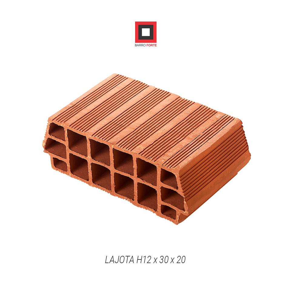 Lajota H12x30x20 - Cerâmica Barro Forte