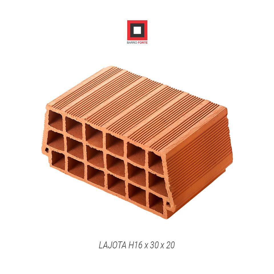 Lajota H16x30x20 - Cerâmica Barro Forte