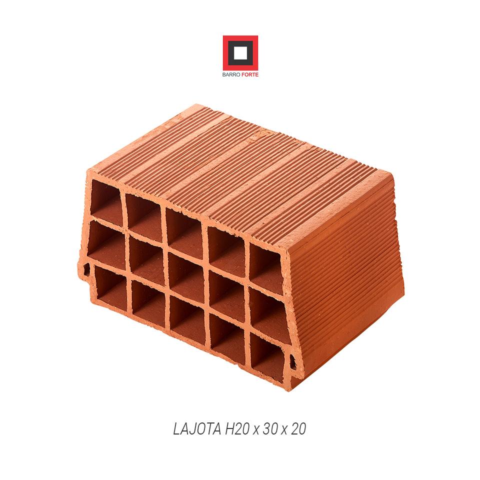 Lajota H20x30x20 - Cerâmica Barro Forte