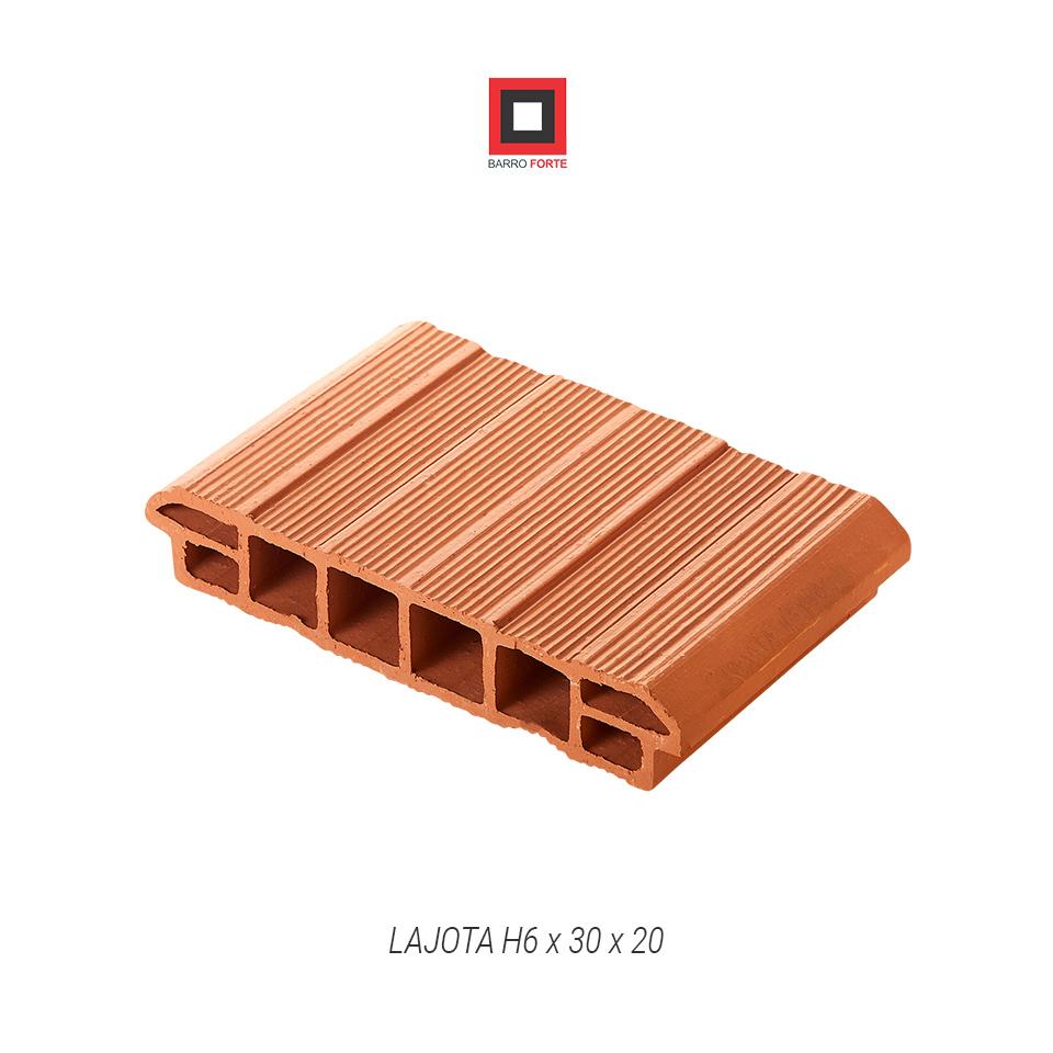 Lajota H6x30x20 - Cerâmica Barro Forte